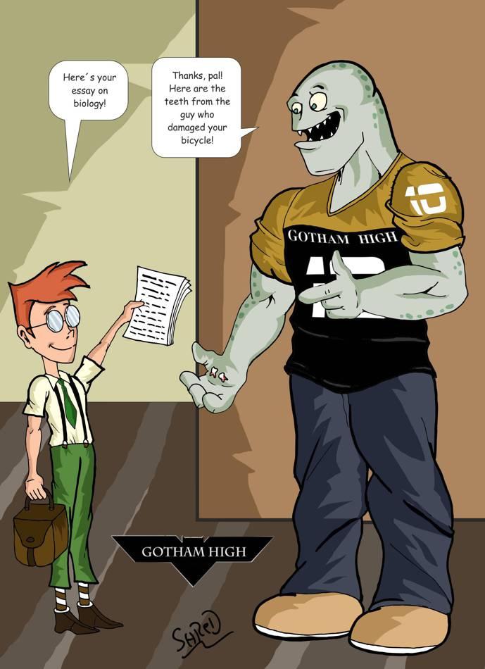 Gotham High: The Deal by ShredSmiler