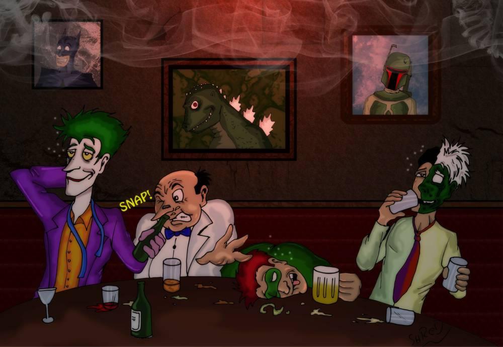 Batty Baddies: After Work! by ShredSmiler