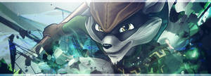 Sly Cooper Sig - Colored version