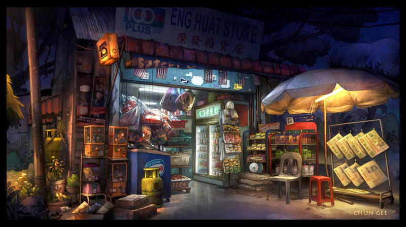 Grocery store by cgooi