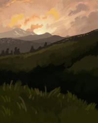 Sansretour sunset