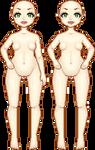 Kewpie 2.0 Poses 1 by VellumSkin
