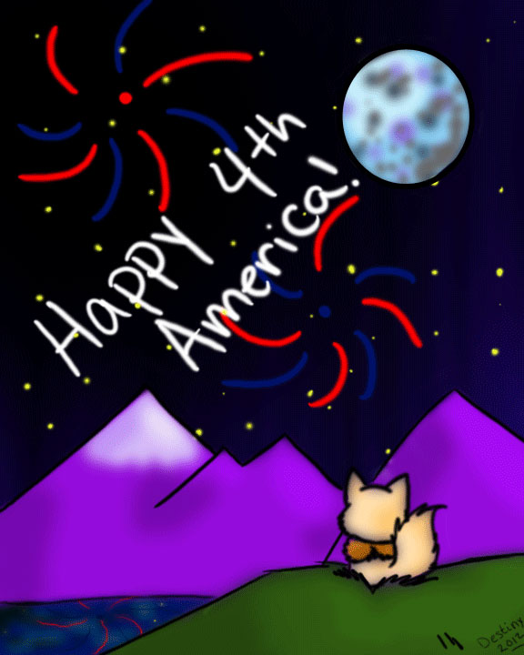 Happy 4th 2012 by DestinysDarkProphecy