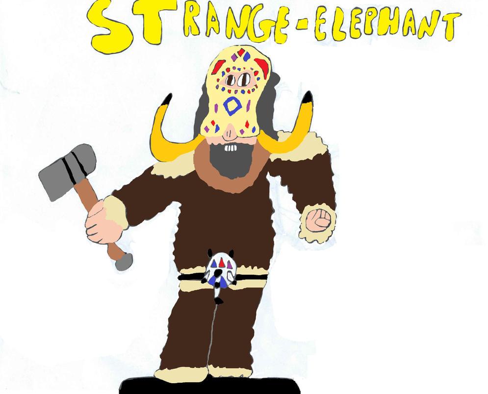 Strange-Elephant by Doctor-of-W