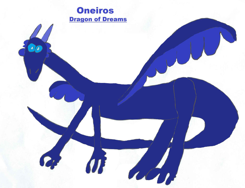 Oneiros, Dragon of Dreams by Doctor-of-W