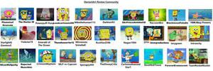 DeviantArt Reviewers Portrayed by SpongeBob