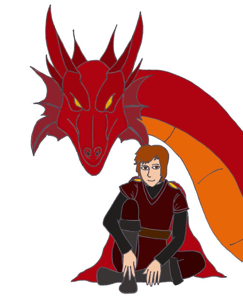 Zack Targaryen, Prince of Dragons by Panther-X