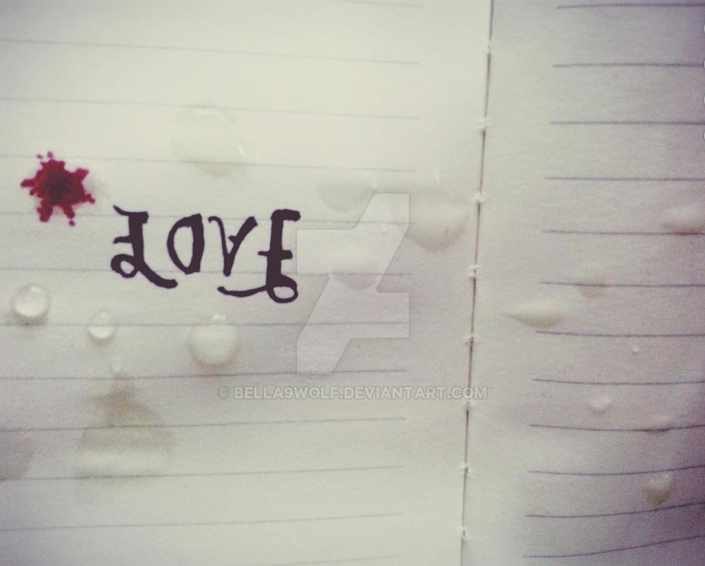 LOVE / fade by bella9wolf