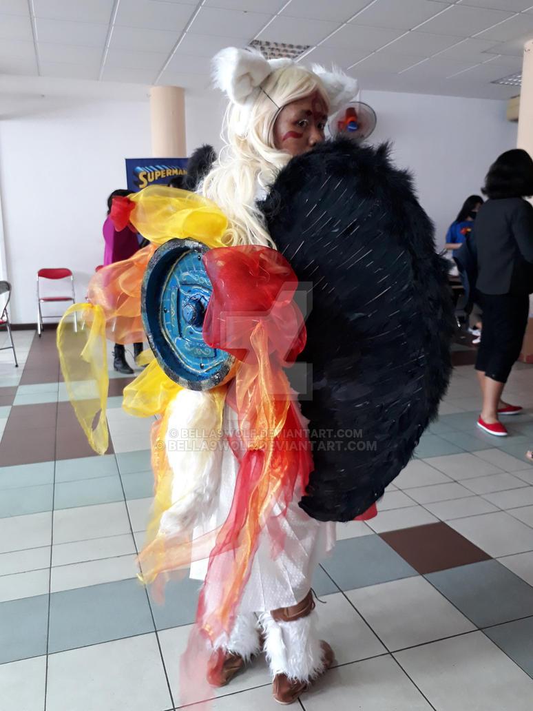 Okami cosplay by bella9wolf
