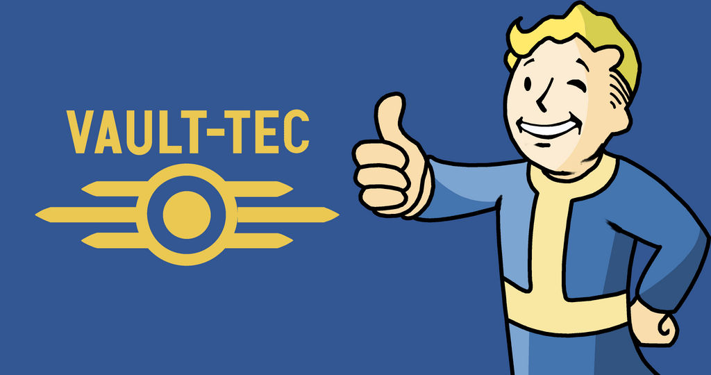 Vault-Boy, from the Fallout saga