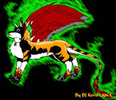 Dragonred Redesigned Upgrated by darkness-angel