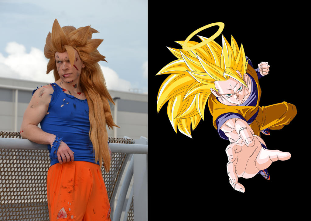 Goku SS 3 by KillerGio
