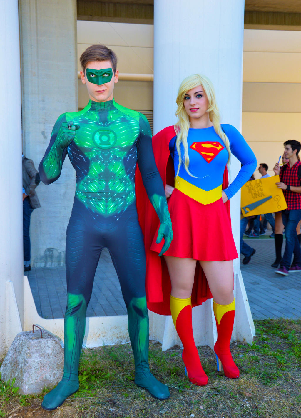 Supergirl Green Lantern
