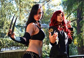 X-23 e Phoenix by KillerGio