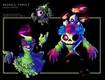 PKMN - Duskull-Calaca family