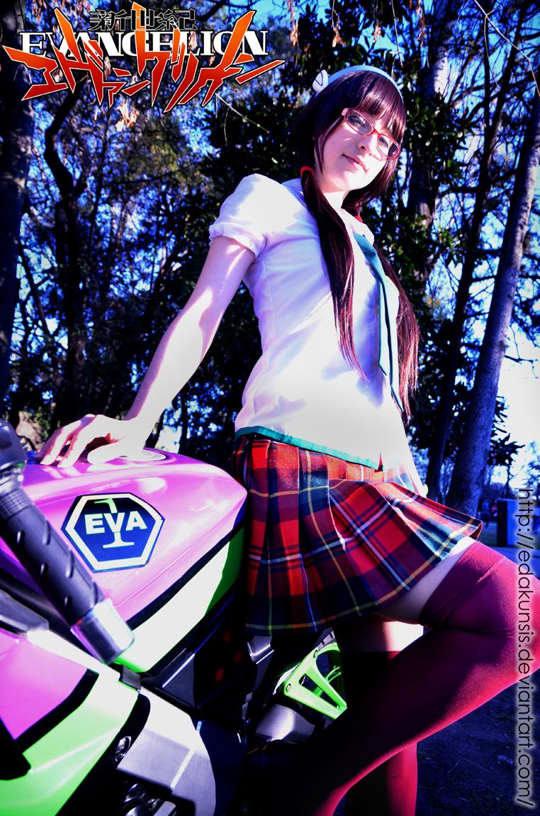 Mari Makinami cosplay - Evangelion: 2.0 - by Maysis
