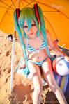 Hatsune Miku Swimwear cosplay