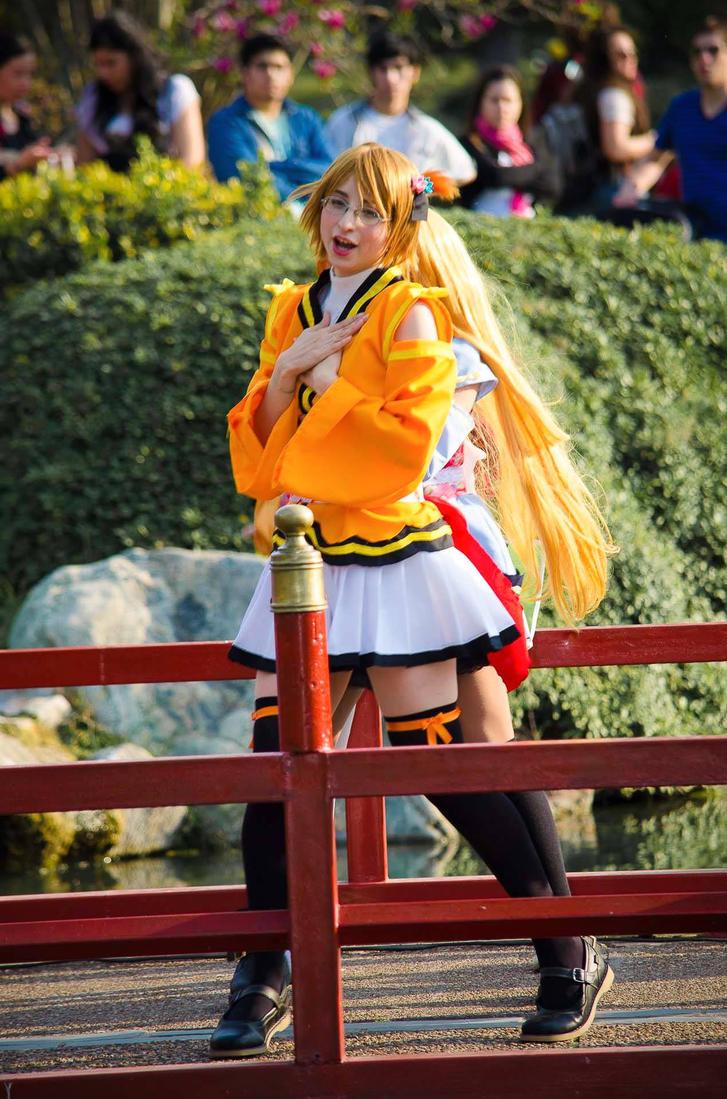 Hanayo Koizumi cosplay by Maysis