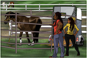 Extreme Mustang Makeover 2015-2016 Arrival by Mehetabel