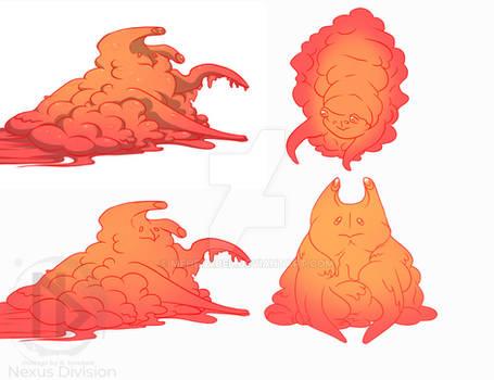 Slime concept form2 Eternal Legion