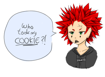 Axel and his cookies by fashoo