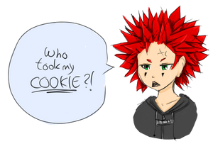 Axel and his cookies