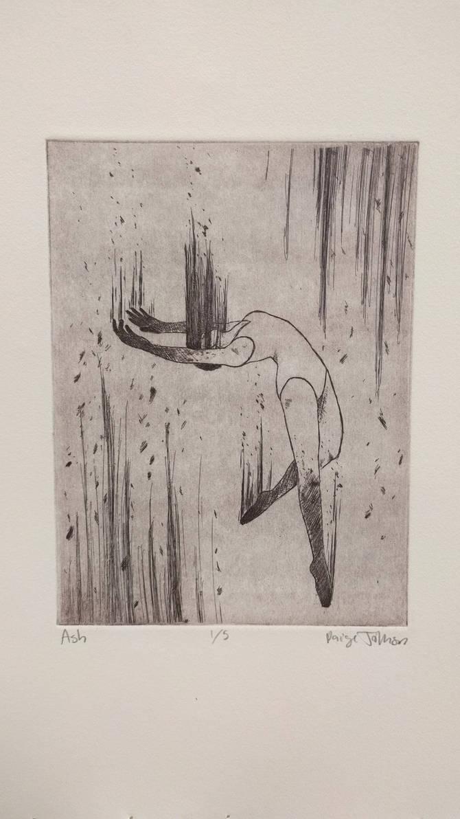 Dancer - Print Etching
