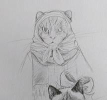 Cat 1 - Inktober 2018