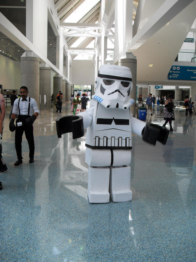 Lego StormTrooper Cosplay by Knightfourteen