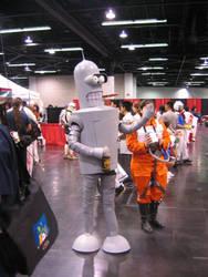 Bender Cosplay by Knightfourteen