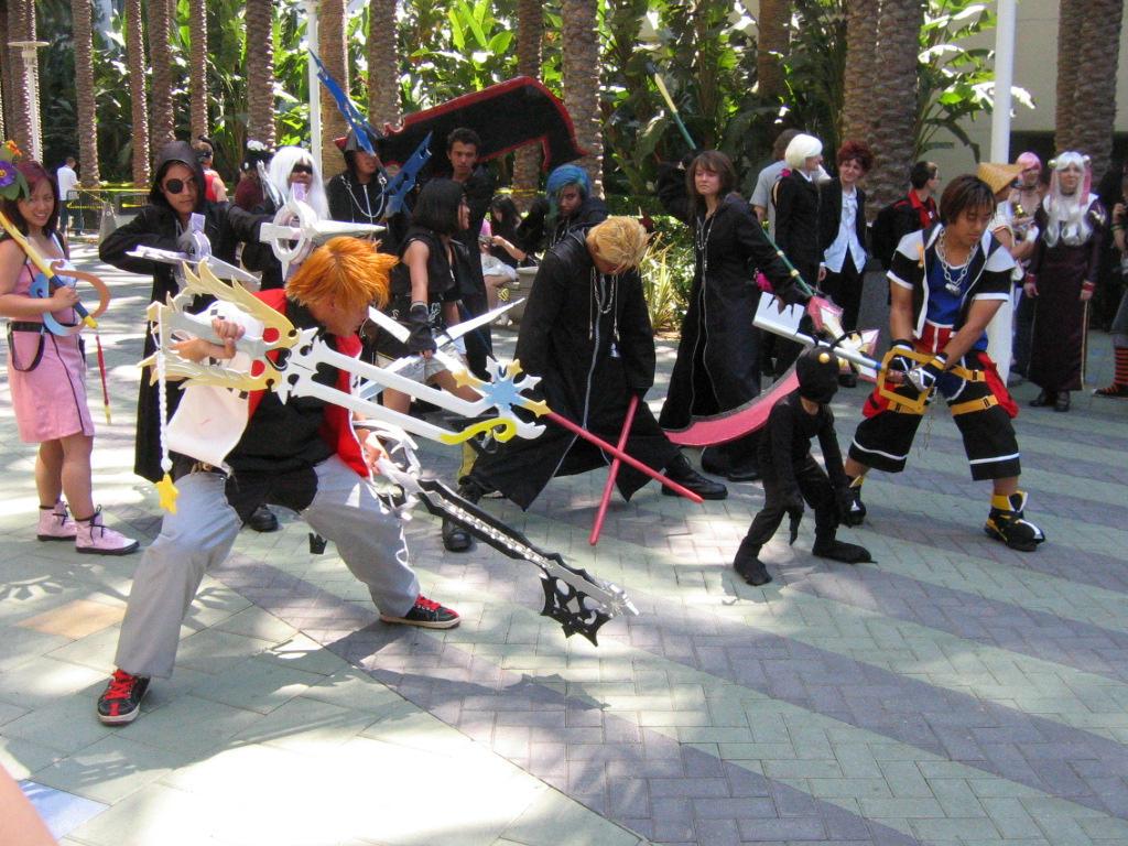 Sephiroth Kingdom Hearts Cosplay Kingdom Hearts Cast Cosplay by