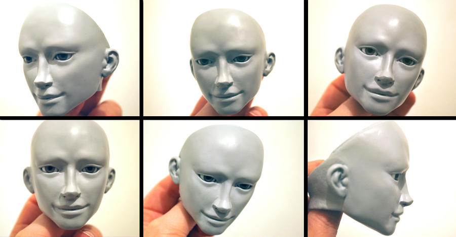BJD Puck: Million Faces of Puck by FreakStyleBJD
