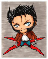 Chibi Wolverine by Sefi