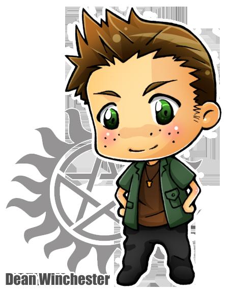 Chibi Dean Winchester by Sefi