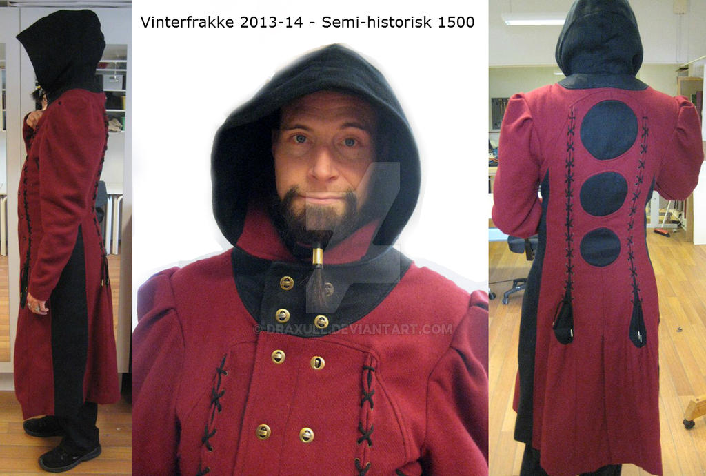 Ny vinterfrakke ( new winter coat) 2013-14 by draxull