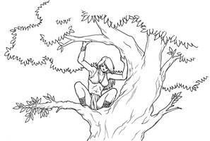 Up a Tree by MajorKiz