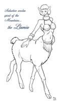The Dreaded Llamia