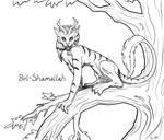 Bel-Shamallah the Cat Demon