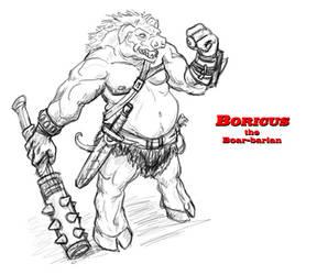 Boricus the Boar-barian