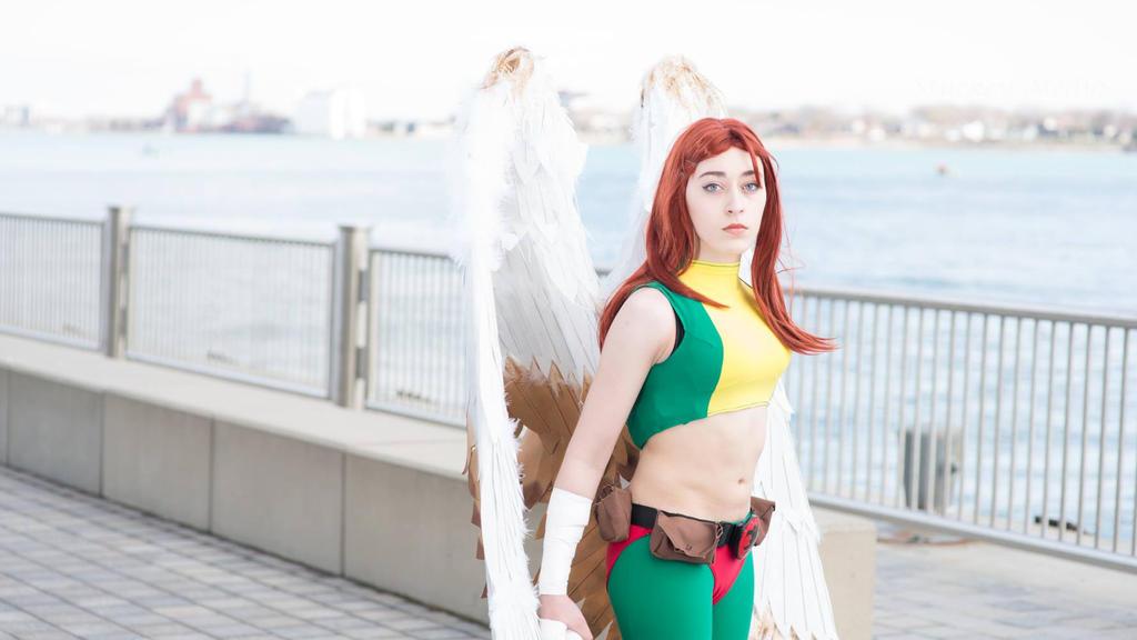 Hawkgirl by 123bandgeek