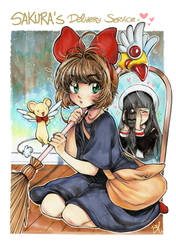 Sakura's Delivery Service by BeliVinetsu