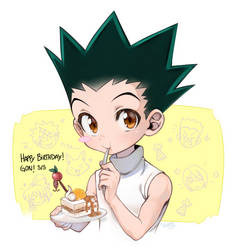 Happy B-Day Gon! by BeliVinetsu