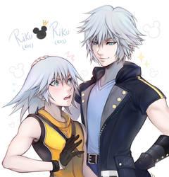 Riku meeting Riku (?)