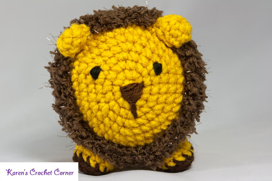 Amigurumilacion : Little amigurumi lion by karenscrochetcorner on deviantart