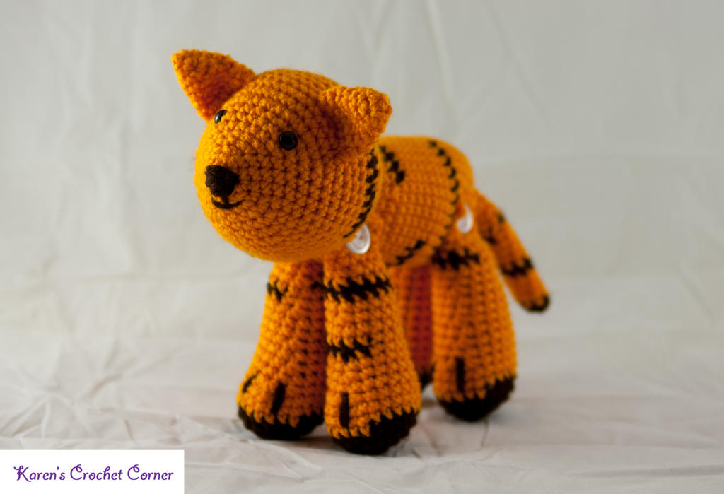 Jointed Amigurumi Tiger by karenscrochetcorner on DeviantArt