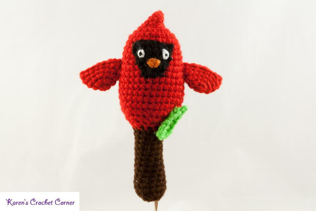 Amigurumi Red Cardinal Rattle by karenscrochetcorner on ...