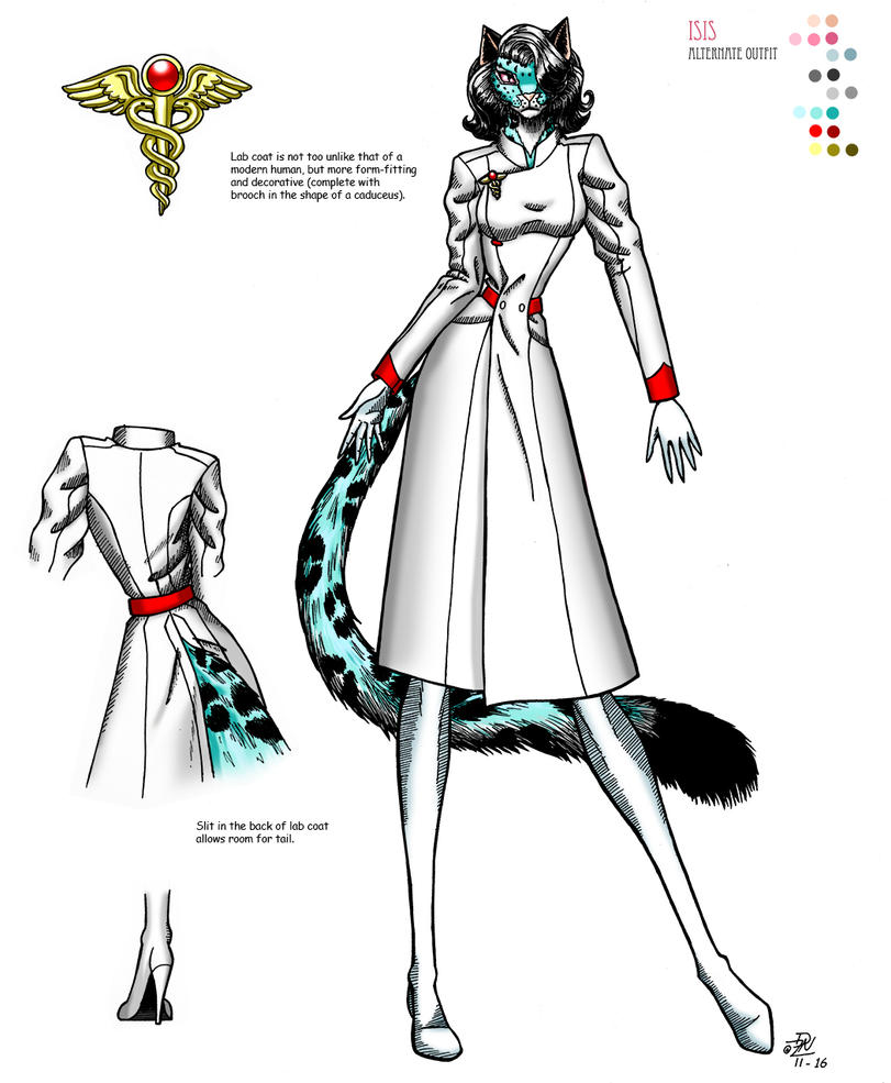 Isis reference sheet 2 by Razia