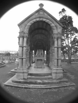 statue, grave, what?