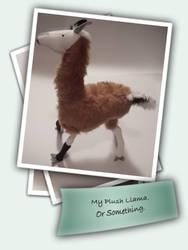 Llama by ludicrouslouisa