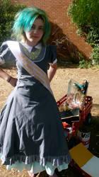 OTT victorian dress by ludicrouslouisa
